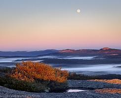 Granite moon